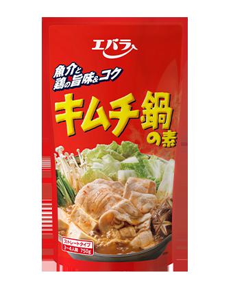 キムチ鍋の素(ストレートタイプ)