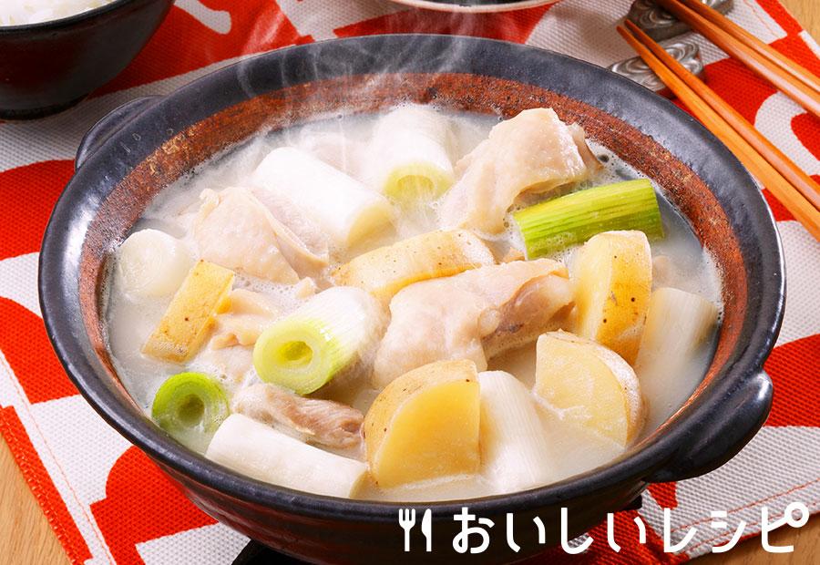 タッカンマリ風濃厚白湯鍋