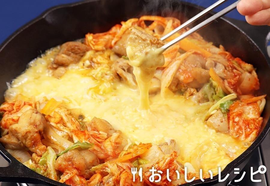 キムチ チーズ タッカルビ