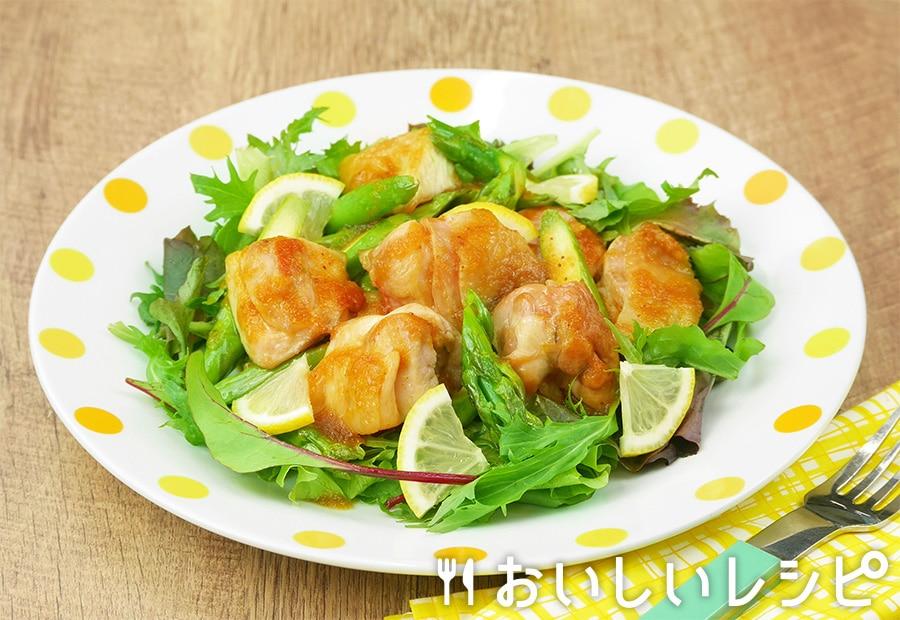 鶏とアスパラのサラダ仕立て