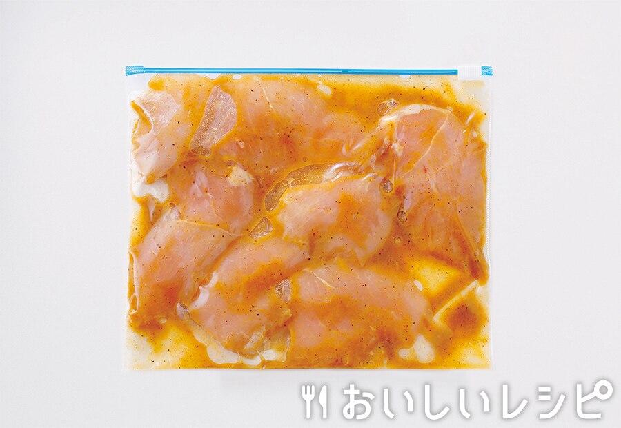 下味冷凍肉(黄金鶏むねマヨチキン用)