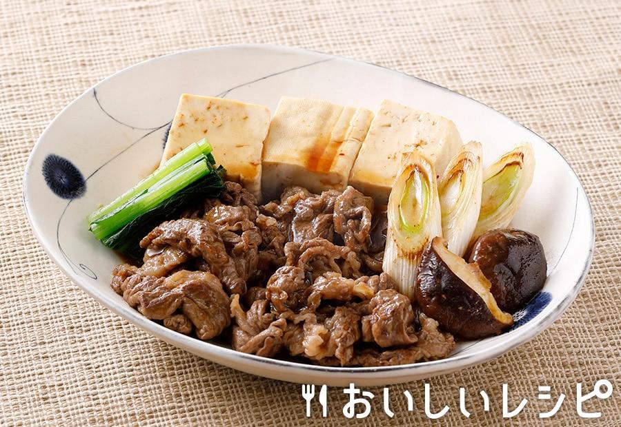 旨味たっぷり肉豆腐