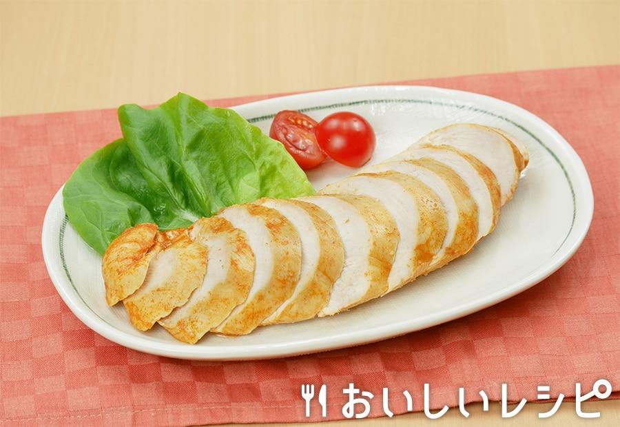 下味解凍で味しみサラダチキン(キムチ鍋)