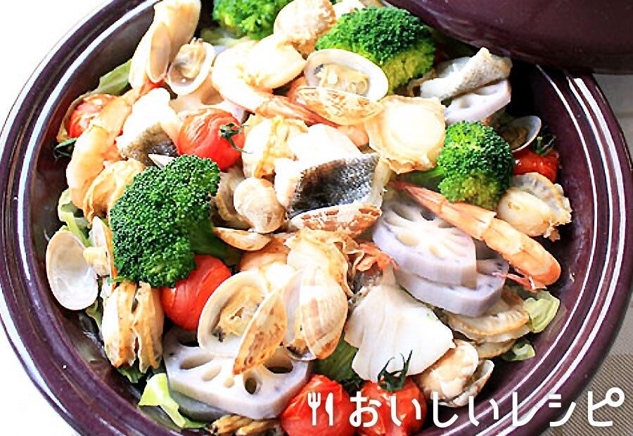 アクアパッツァ風蒸し鍋
