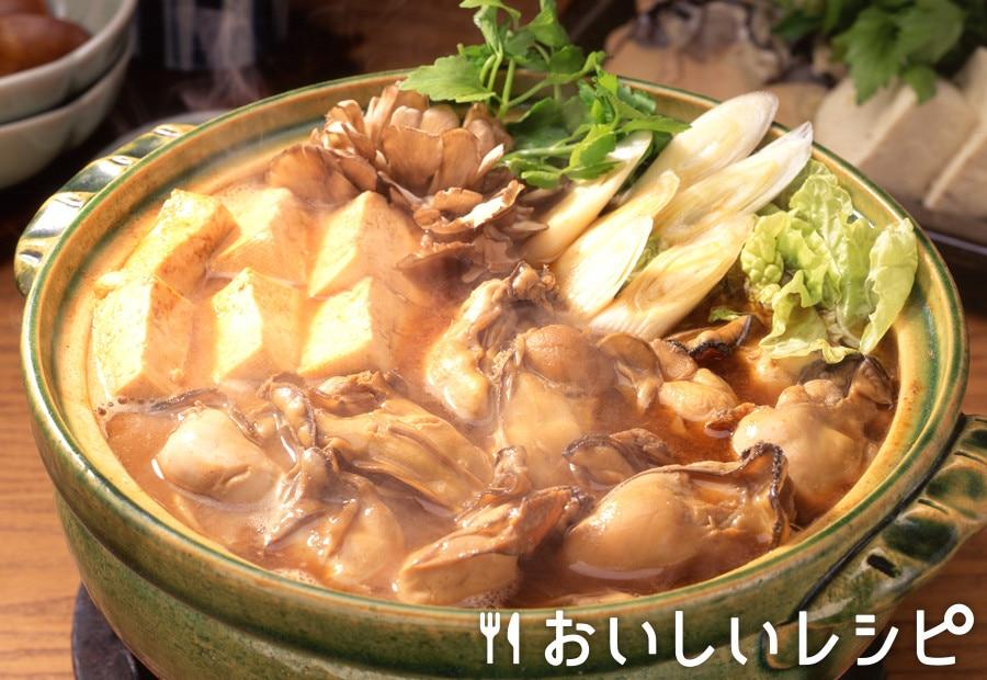 かきのみそキムチ鍋