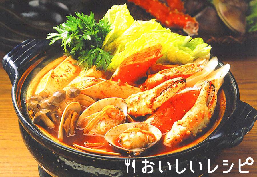 かにのキムチ鍋
