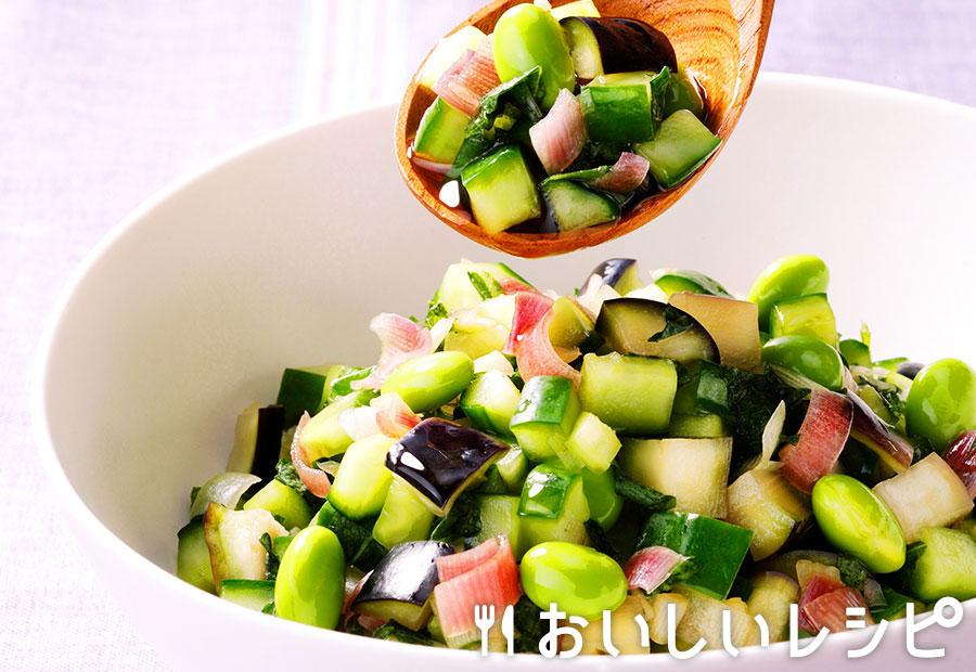 きざみ野菜の浅漬け(山形のだし風)