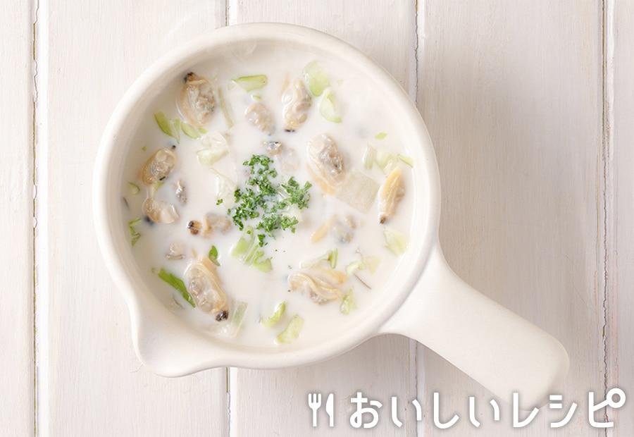 myおかずスープ クラムチャウダー風