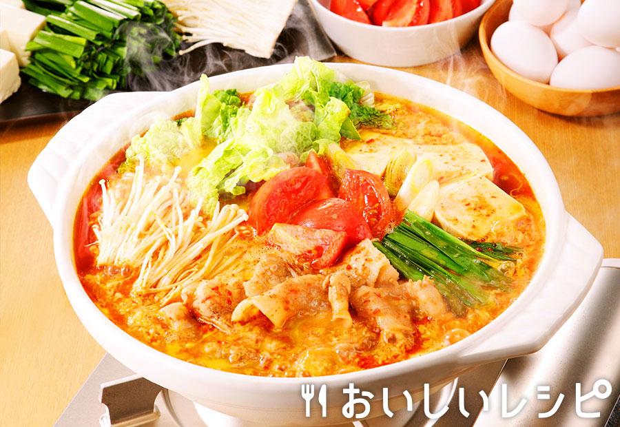 トマたまキムチ鍋