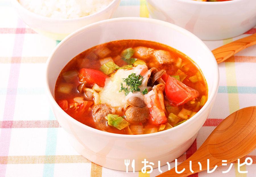 トマチーズキムチスープ