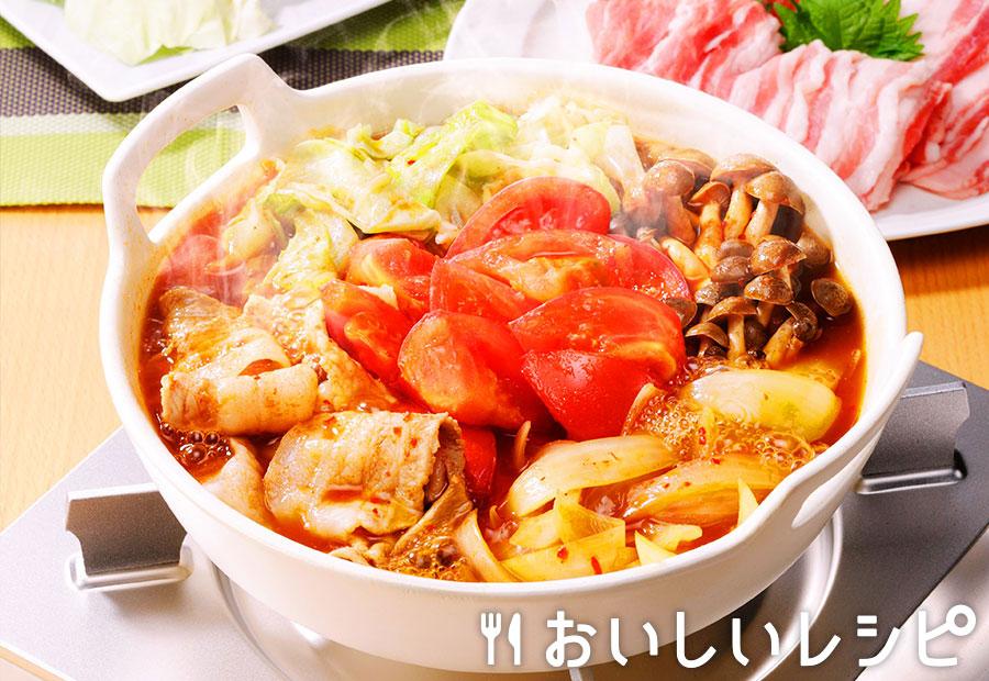 トマトキムチ鍋