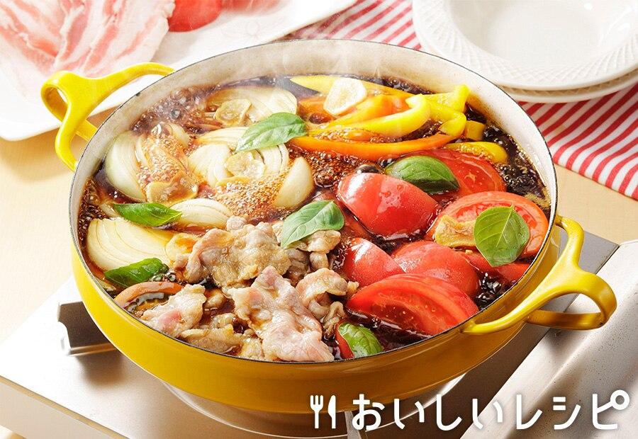 トマトすき焼き(豚肉)