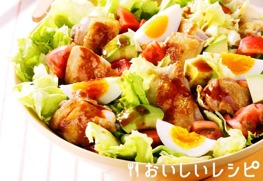 チキンの焼肉サラダ