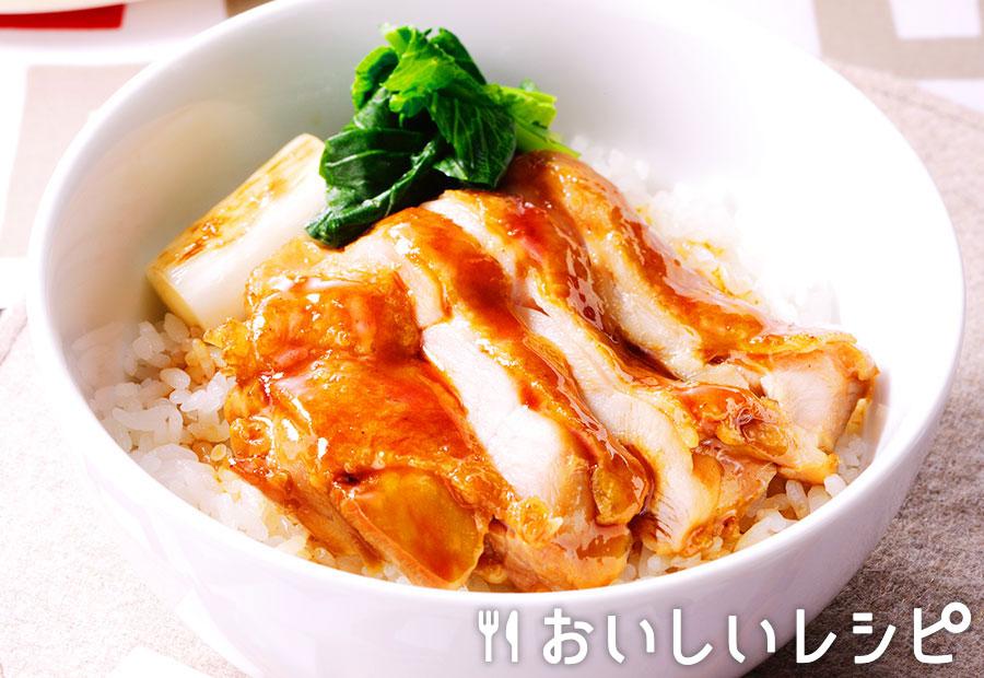 ピリ辛鶏の照り焼き丼