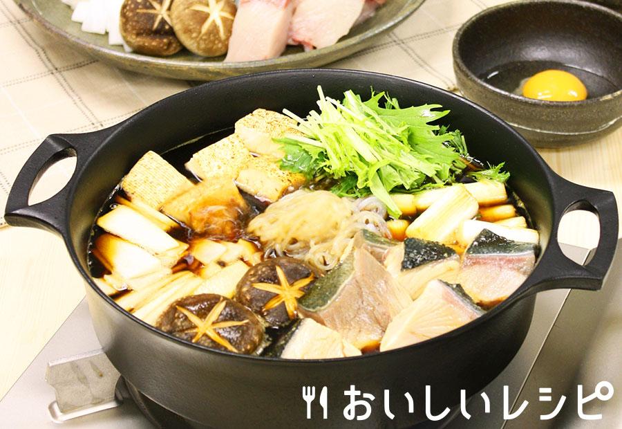ブリすき鍋