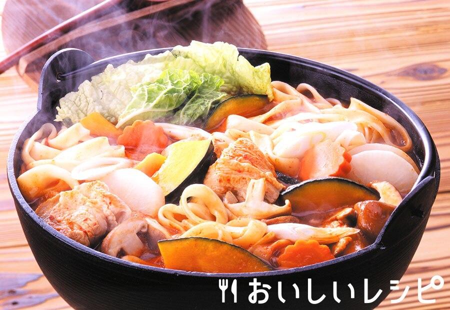 ほうとうピリ辛鍋