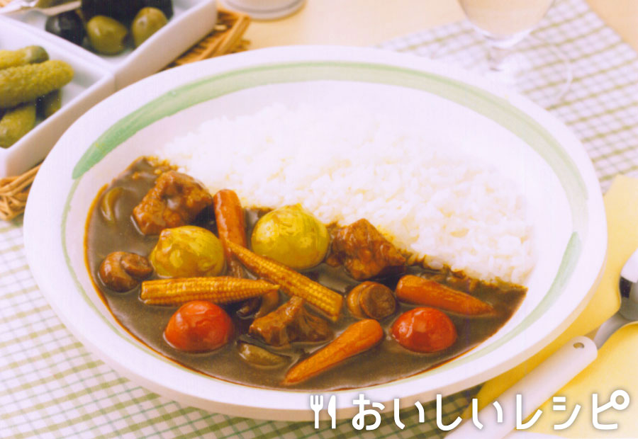 ミニ野菜カレー