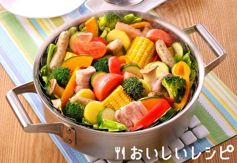 やさい畑の夏の蒸し鍋