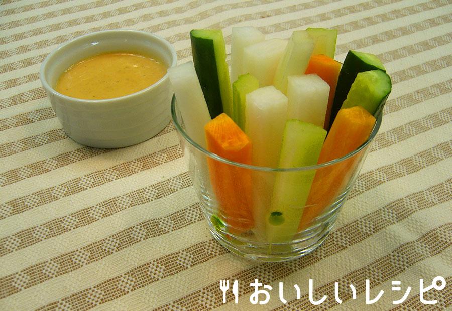 黄金マヨのスティックサラダ