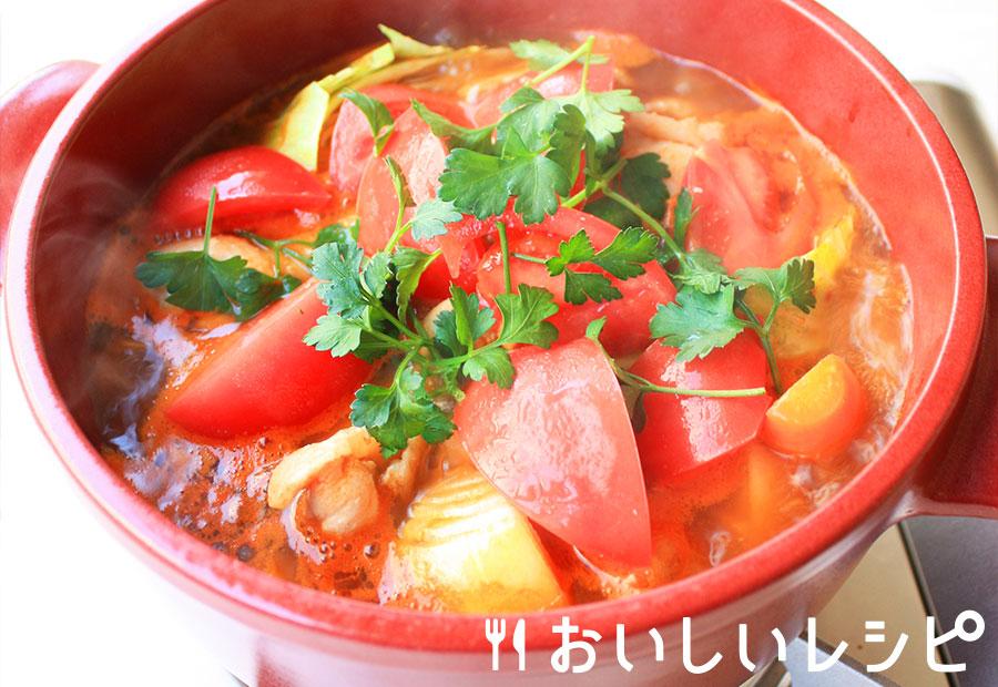 夏のポトフ風キムチ鍋