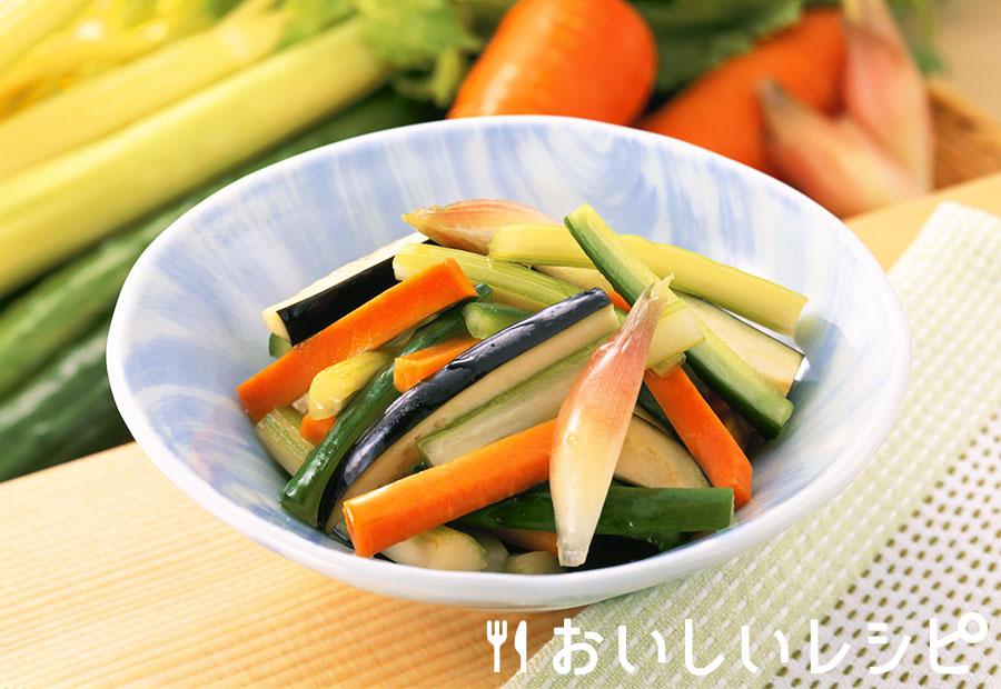 夏野菜のミックス浅漬け