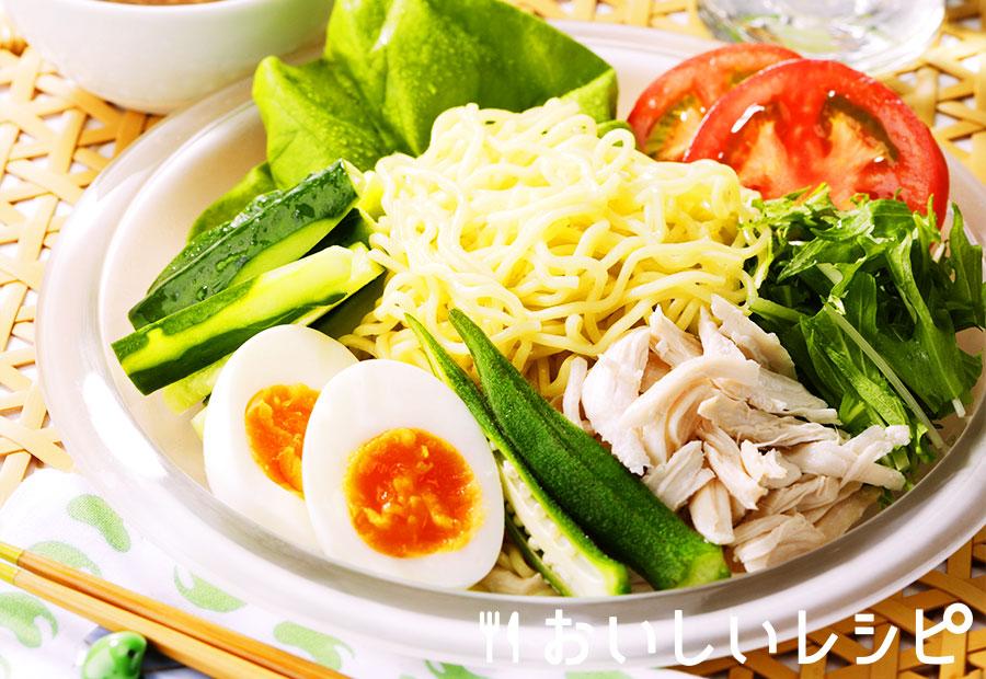 夏野菜のラーメンサラダ