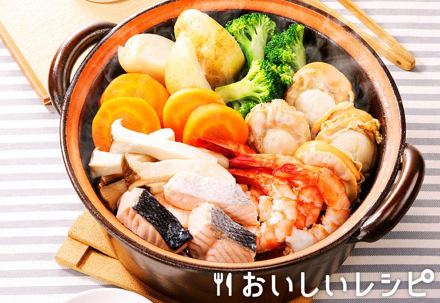 魚介の蒸し鍋