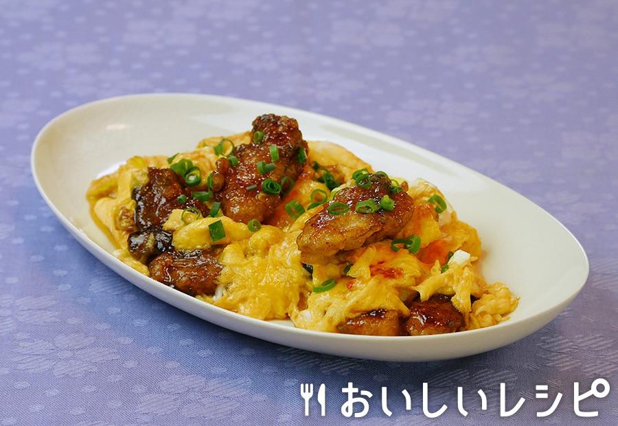 牡蠣と卵のオイスター炒め