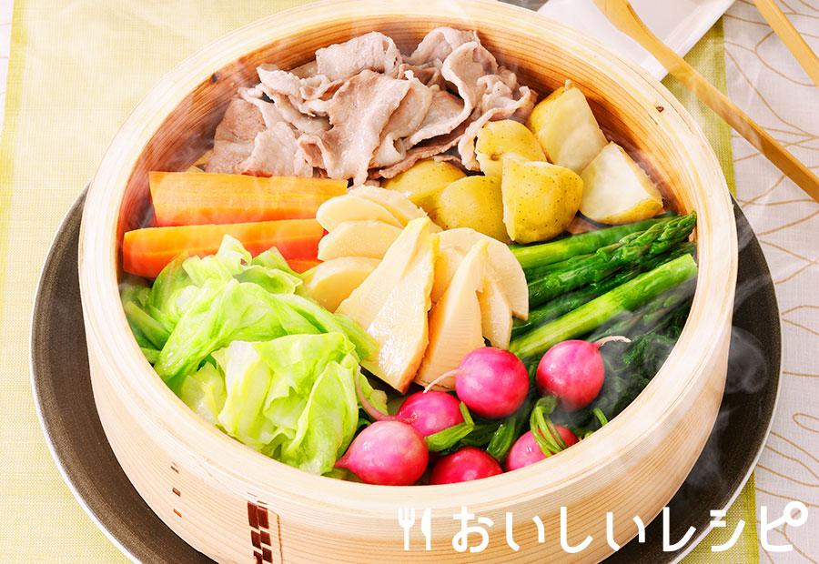 春野菜の蒸し鍋