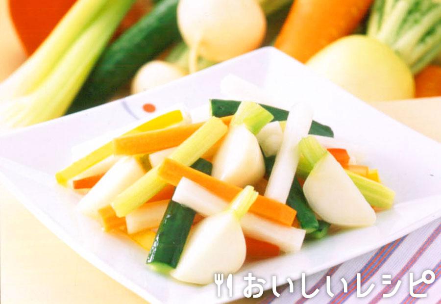 冬野菜のミックス浅漬け