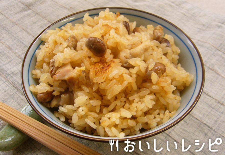 福豆炊き込みごはん
