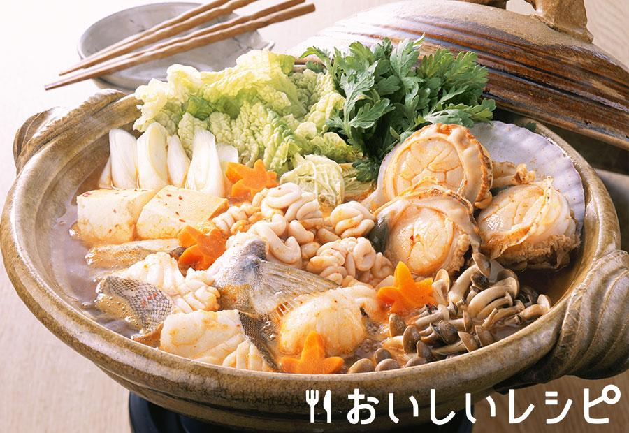 北海キムチ鍋