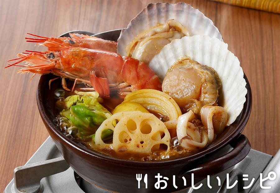 海鮮スープカレー鍋