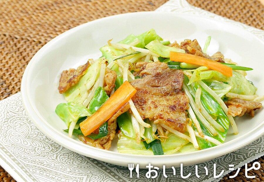野菜炒め カレー風味