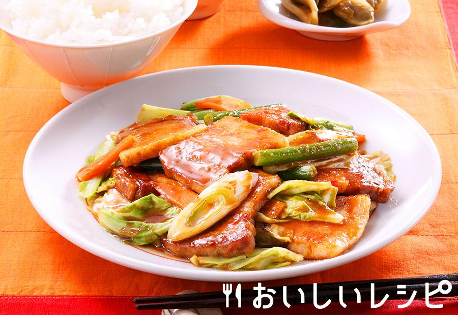 豚味噌キャベツ炒め