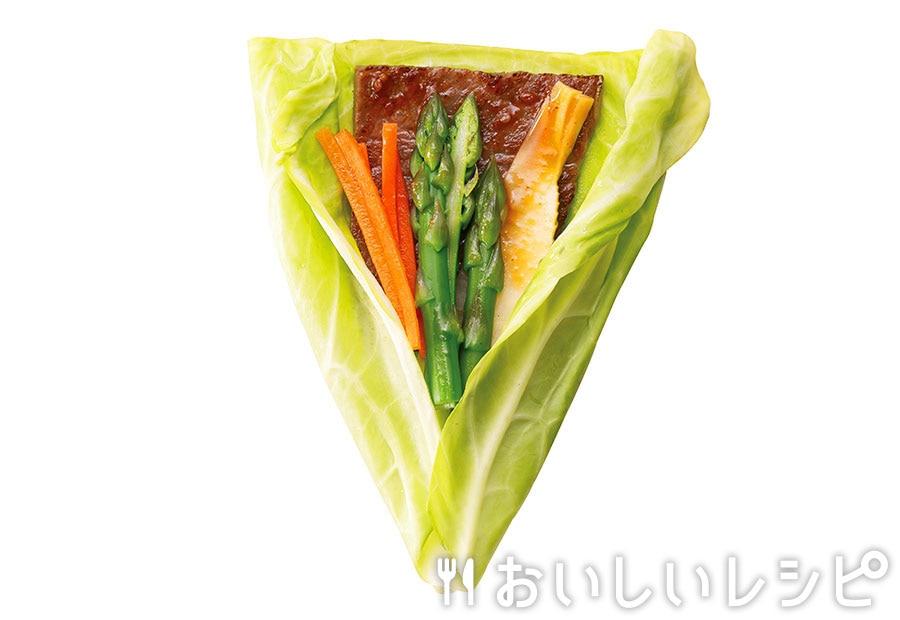 春野菜de巻き肉