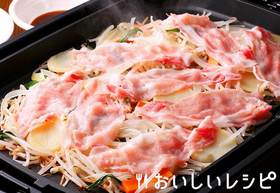蒸し豚焼肉
