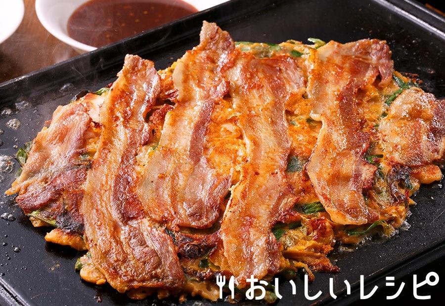 鉄板肉チヂミ