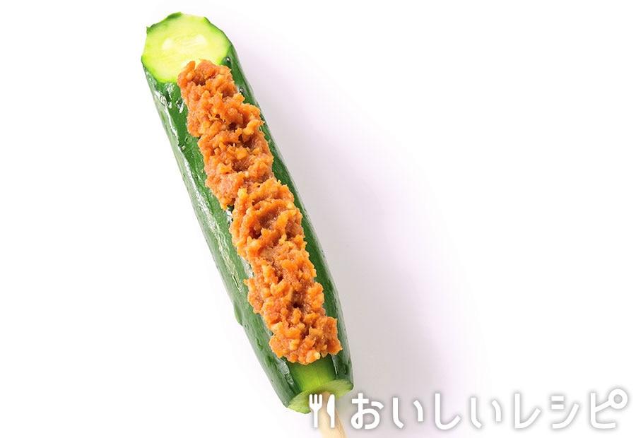 にんにく味噌のきゅうりバー