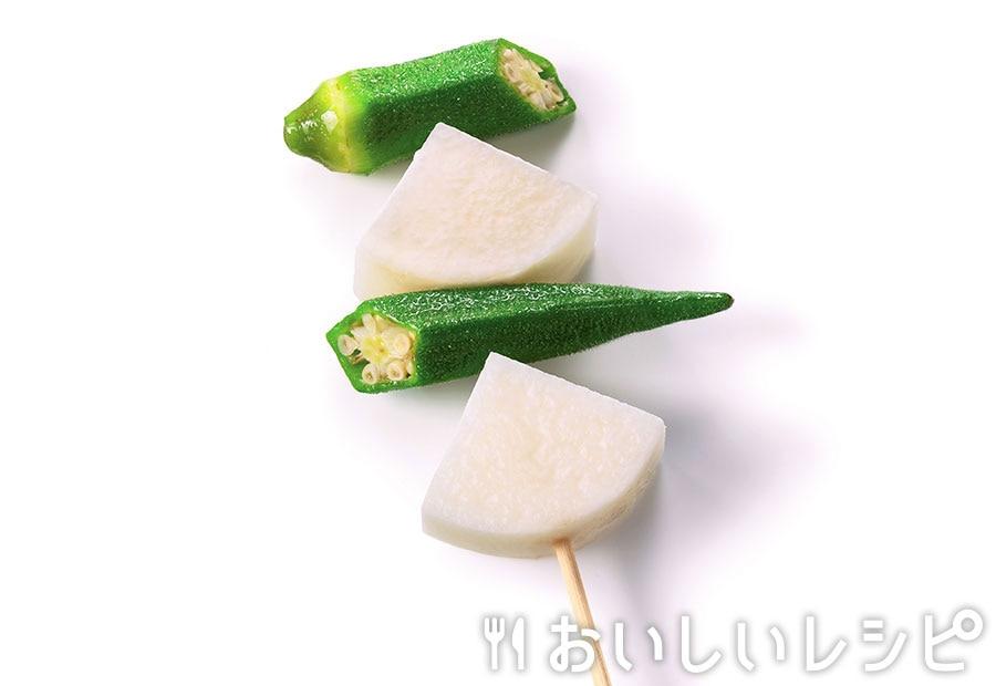 長芋とオクラバー