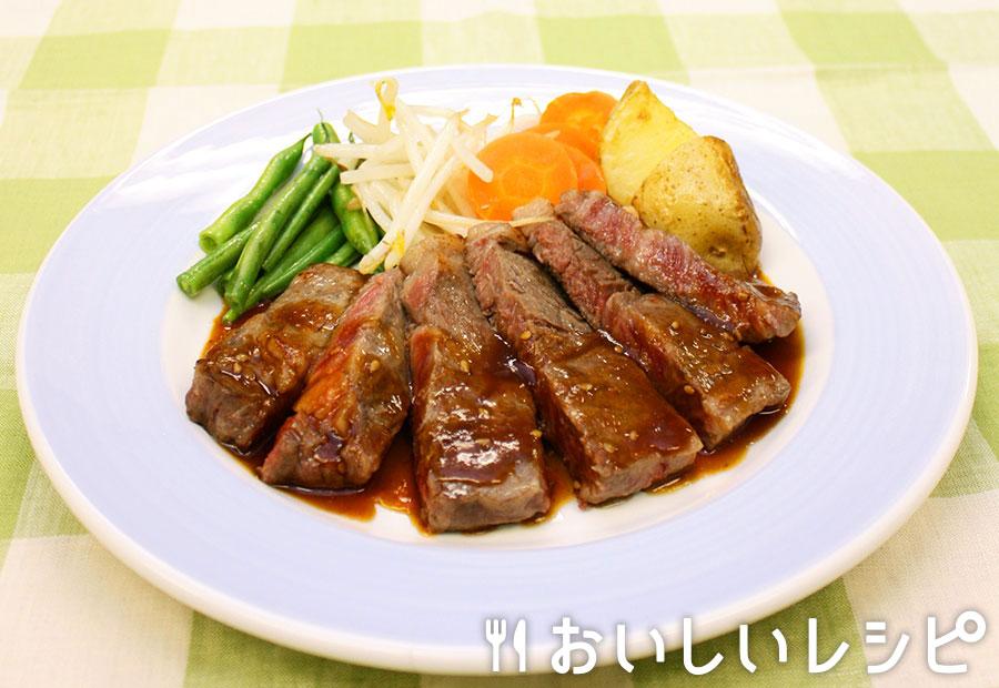 黄金ステーキ