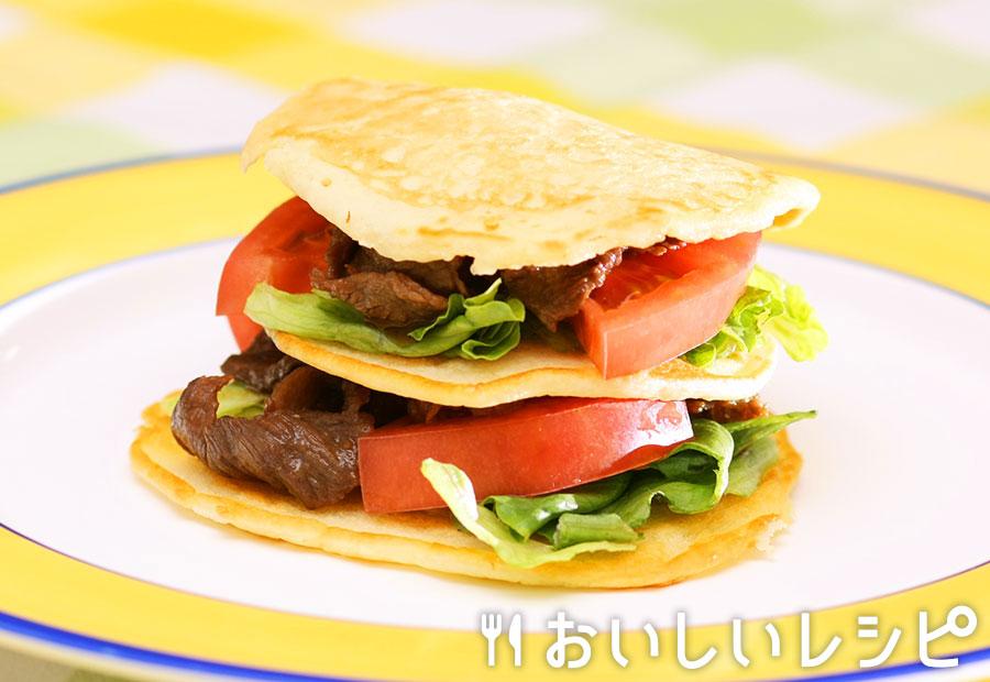 黄金焼肉バーガー