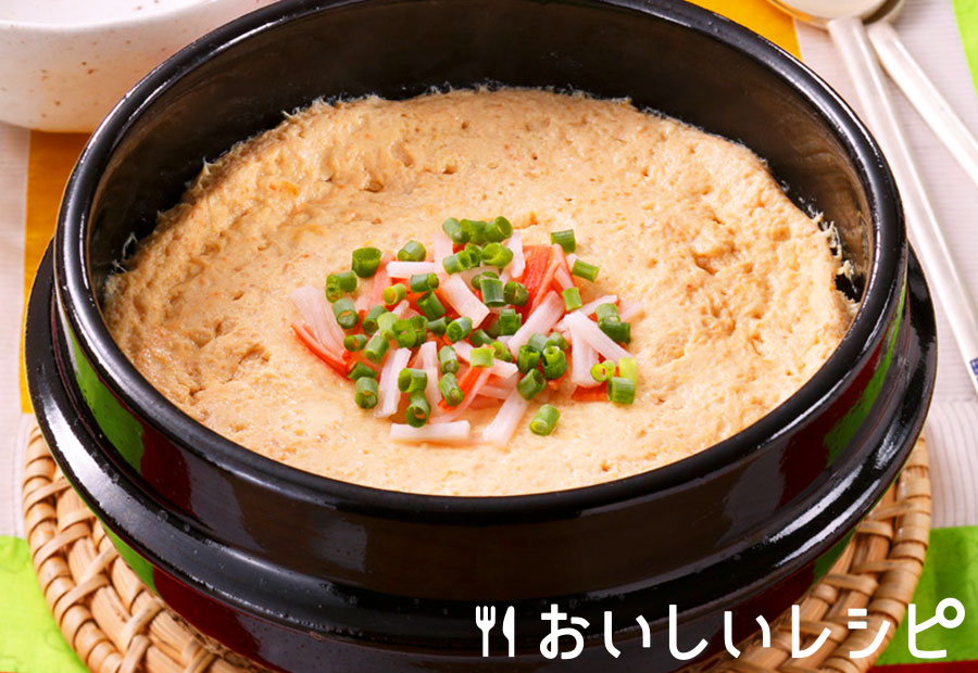 ケランチム(韓国風茶碗蒸し)