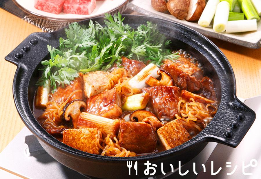 牛鍋風すき焼き