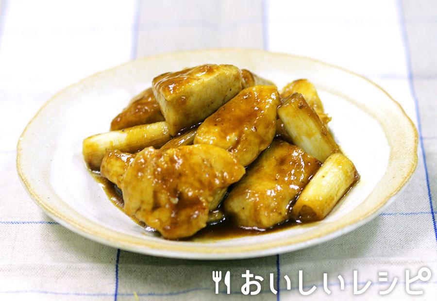 鶏と長ねぎの甘辛焼き