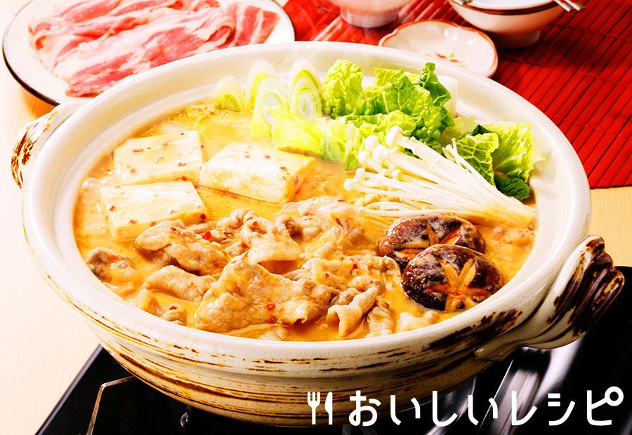 豆乳キムチ鍋