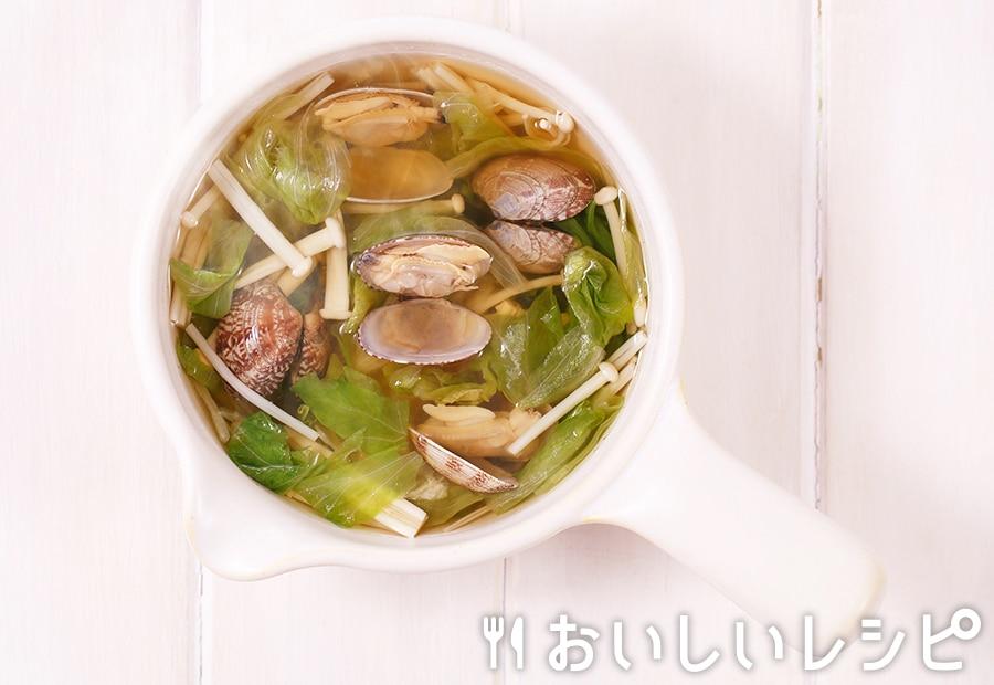 myおかずスープ あさりとレタス