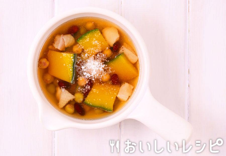 myおかずスープ お豆たっぷり!チキン&パンプキン