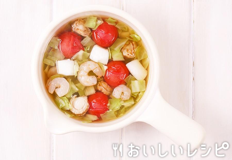 myおかずスープ シーフード&トマト