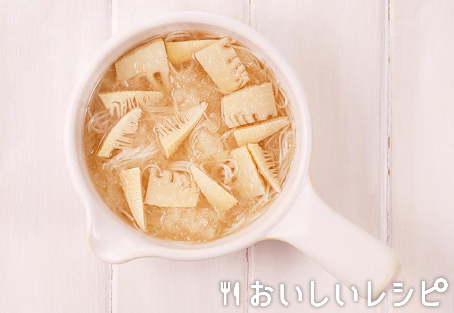 my主食スープ さっぱりにゅうめん